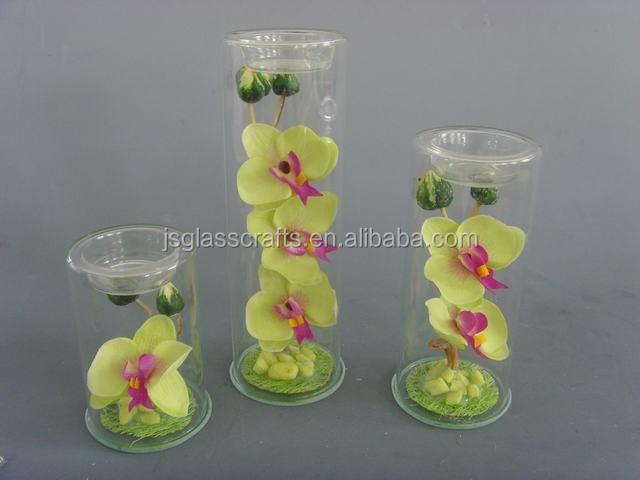 Glass Flower Vase Glass Tube Vase Home Decoration Vase Set ...