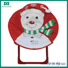 Christmas moon chair metal folding chair pads