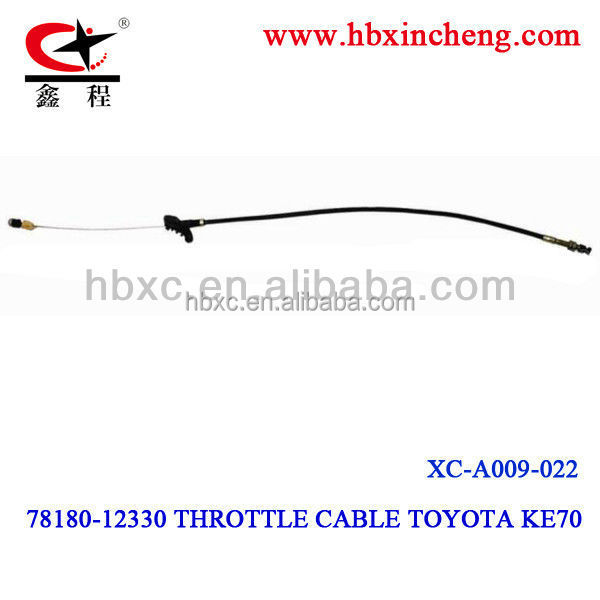 HEBEI XC Auto control cableTOYA-TA Throttle Cable OEM NO.78180-12330