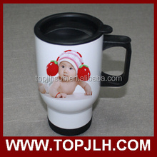 2017 Hot Sell stainless steel travel mug with sublimation image