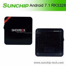 Smart tv box Android 7.0 android tv box quad core 8gb rockchip rk3328 chip android 7.0 tv box