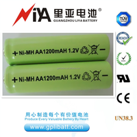 rechargeable batteries aa 1.2v aa 1200mAh