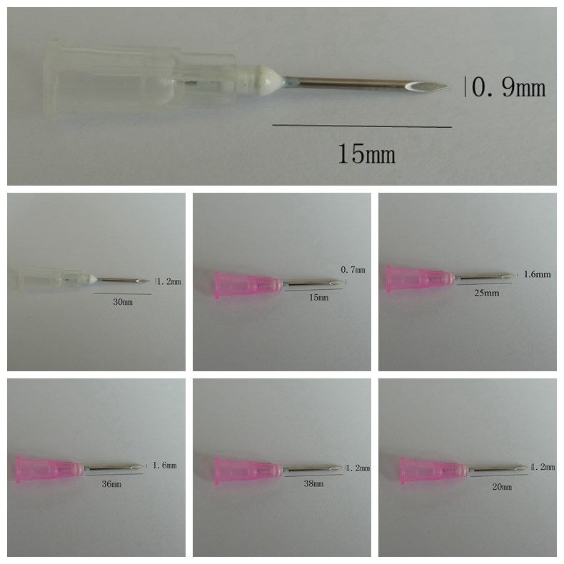 Reusable Nylon Poultry Injection Disposable Hypodermic Needle for Veterinary