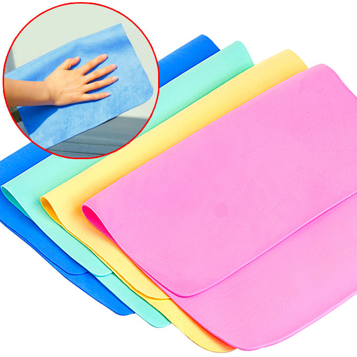 super absorbent pva chamois house cleaning cloth
