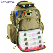 Fishing Tackle Bag Fishing Bag Backpack Fishing Lures Bait Box Storage Bag