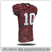 wholesale custom blank camo american football jersey uniforms wholesale customized american football jerseys