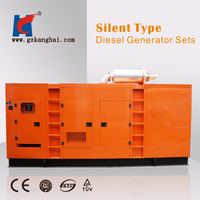 small volume and low noise generator diesel engine for compact tractors