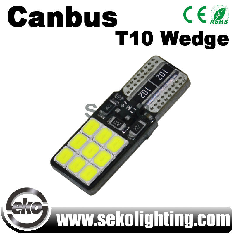 Automobiles Motorcycles Canbus T10 Wedge W5w