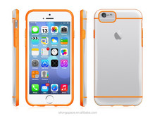 For Apple iPhones Compatible Brand and PC+PU Material mobile phone case for iphone 6 6PLUS