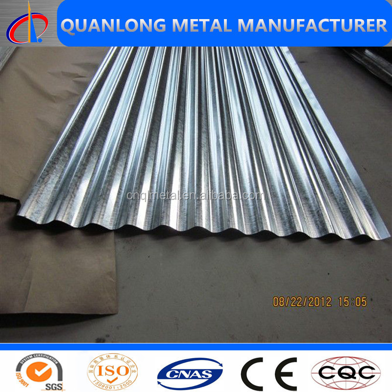 22Gauge Corrugated Galvanized Ion Roof Sheet Price