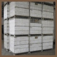 Collapsible folding 2''*2'' storage cage with castors