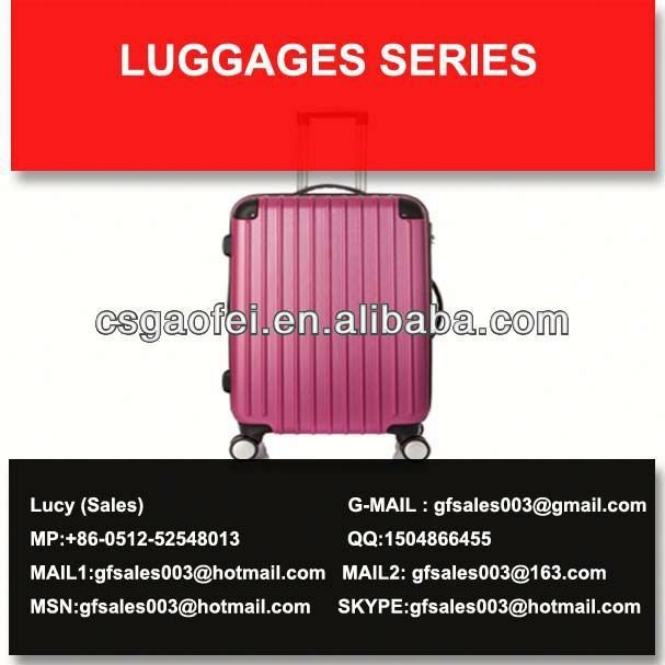 best and hot sell luggage luggage bags single handle for luggage using
