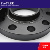 T6 7075 18mm hubcentric car wheel spacer 5x120 for bmw x5 e53 chassis