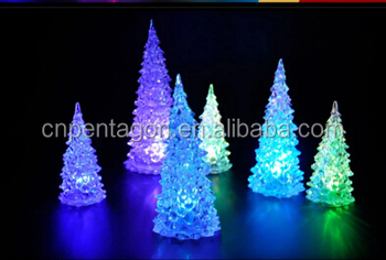 2017 new LED toy flash christmas tree for party