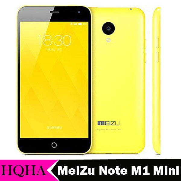 100% Original Meizu m1 note mini Meilan Mobile phone 5.0 Inch 1280x768 Android quad Core 4G LTE FDD smartphone 1GB+8GB 13.0MP
