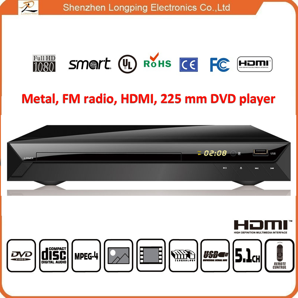 New coming santa fe dvd player can do your logo and brand name with good price dvd player