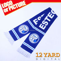 Factory directly Sell Customized logo Esteghlal Sport Scarf for avtivity