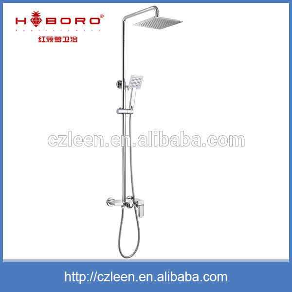 Family use washroom sanitary ware bath shower recessed faucet