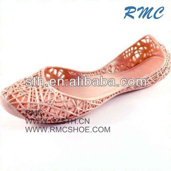 RMC PVC Injection Close Toed New Design Lady Sandals