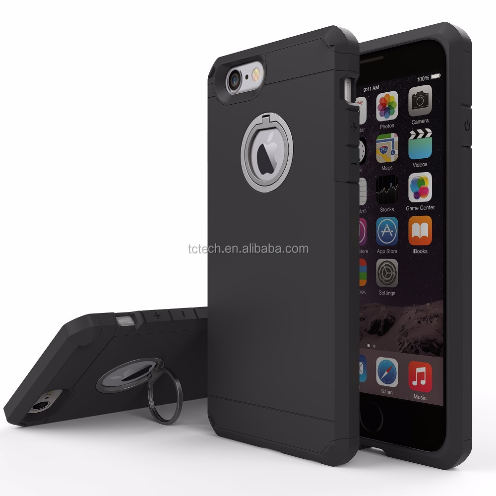 Best Price Shenzhen Mobile Phone Film Cases for iphone 7, For iphone 7 Ring Cover Armor Case