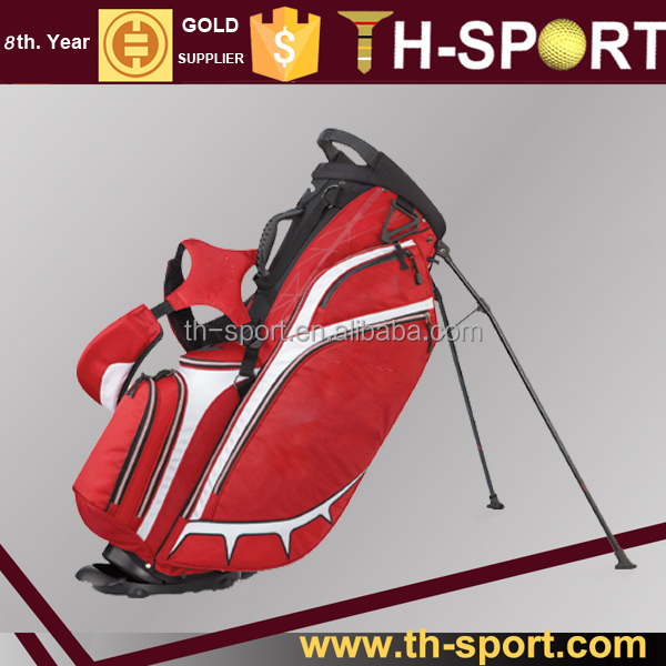 Golf Equipment 9.5 inch Ladies Red Golf Bags