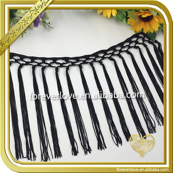 2016 New Wholesale Tassel fringes for dresses FT-002