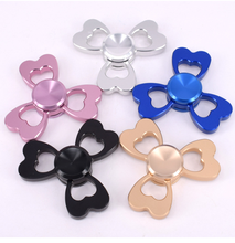 LEZI Metal Aluminum Tri Spinner Fidget Toy Hand Spinner for Adults Kids