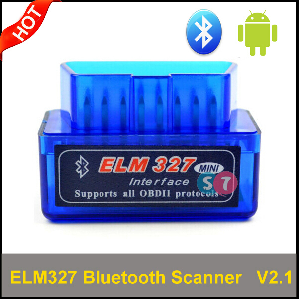 Mini Elm327 Bluetooth OBD Scanner obd2 v2.1 with ELM 327,newest elm327 OBD 2 Bluetooth