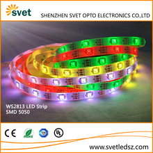 5M 150LEDs Addressable RGB WS2813 5050 LED Strip Programmable Waterproof IP65