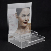 Professional acrylic manufactured cosmetic display stand wholesale