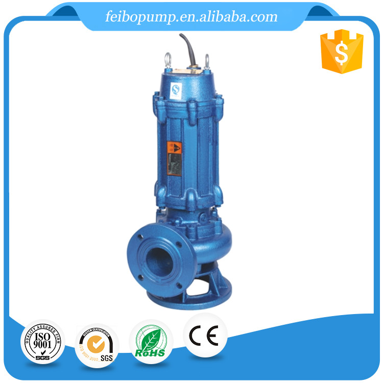 Factory drect sale electric 380 voltage three phase vertical dewatering submersible sewage water pump