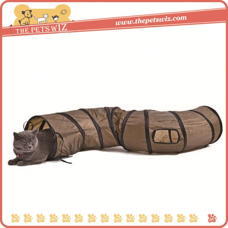 Pet tunnel bed with cushion ,p0w8Ck cat bed tunnel for sale