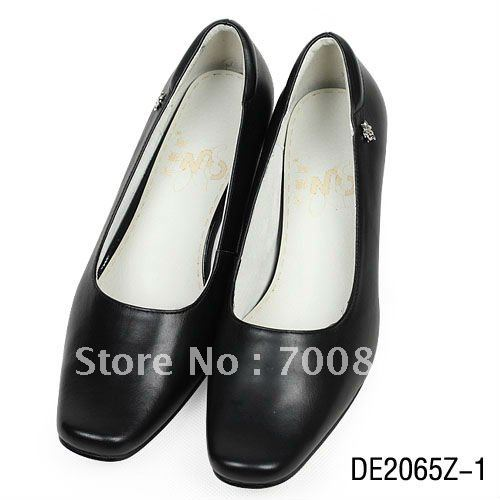 2013 New Arrival Fasionable Women Single shoes for European Style Geniune cow leather women pint-tipped leather shoes 2065
