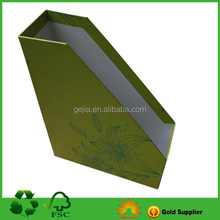 Paper File Box With Custom Printing