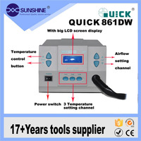 Quick 861DW 1000W power consumption bga chip desoldering and soldering station