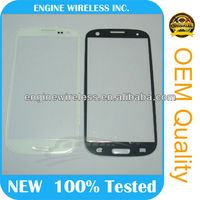 mobile phone wholesale front glass for samsung galaxy s3 i9300
