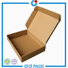 2016 New design custom coated paper packaging box for food pizza hamburger