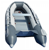 Hot sales CE approved 3m-4m aluminum floor inflatable boat for sale