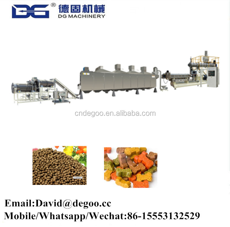 High Quality Floating Fish Feed Dog Pet Pellet Food Extruder Making Machine For Sale