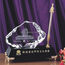 2015 Fancy office decoration crystal pen holder