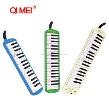 classic style black 32 key melodica for music lovers