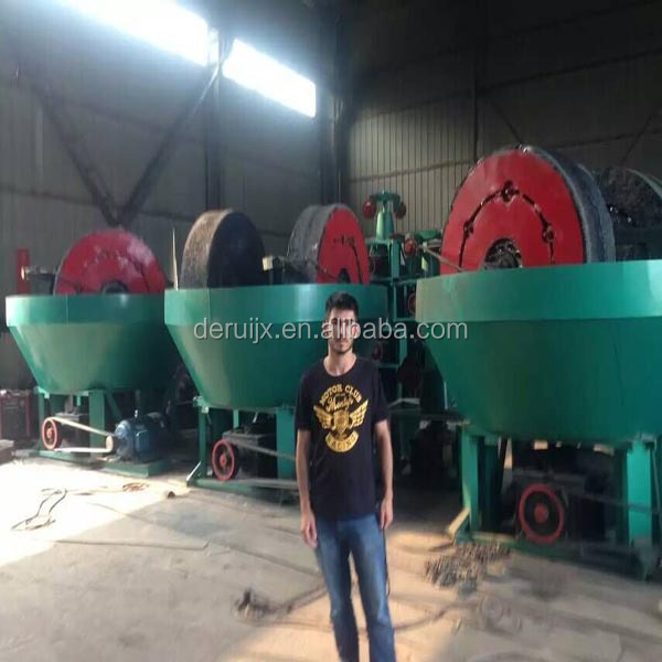 Gold Grinding Wheel Mill in Sudan Work for 24 Hours Continuously