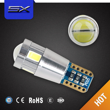 Factory price 6SMD/10SMD car led t10, 9-30V car led light t10, CANBUS, constant current, non-polarity car led