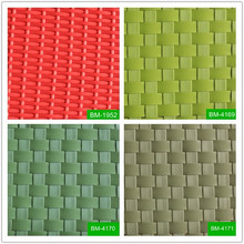 Popular style different shapes bright colored hdpe rattan resin material for indoor and outdoor furniture