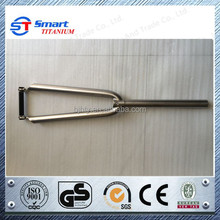 Professional titanium bicycl fork for road bike