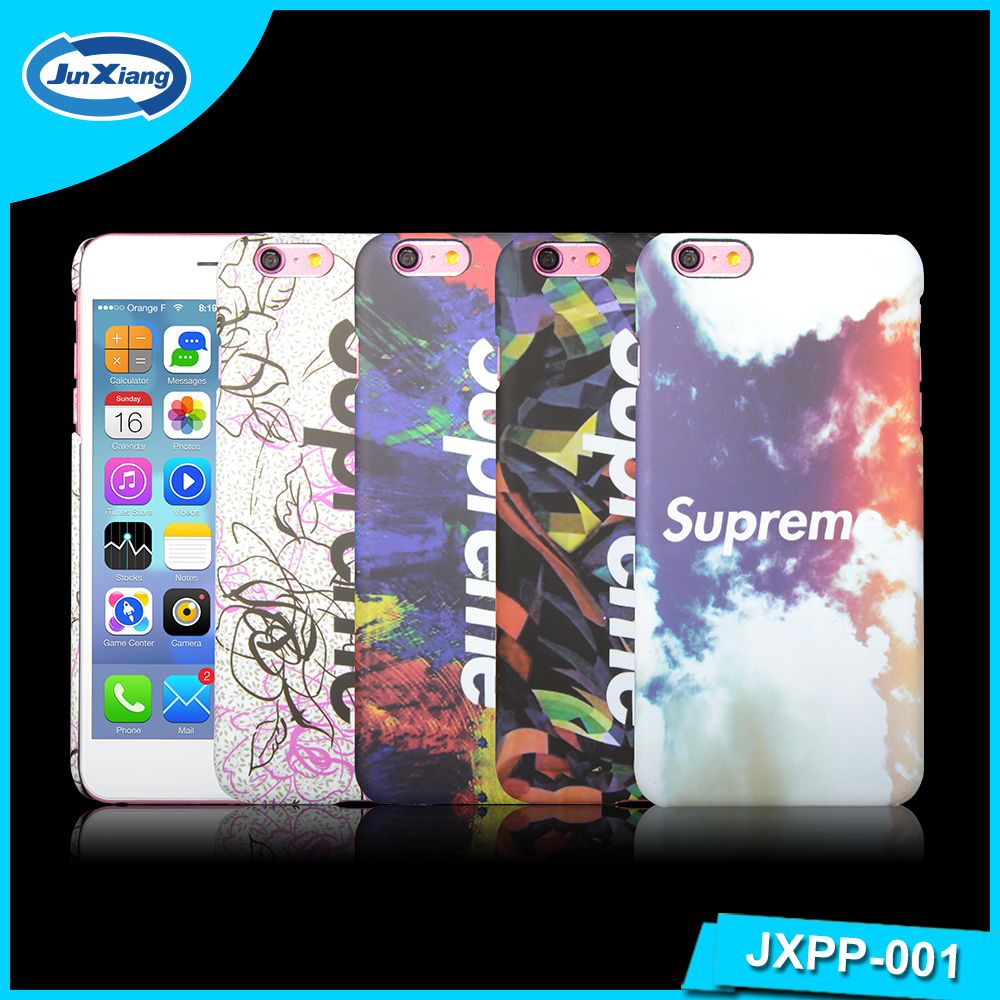 New custom product hard PC phone case with OEM design back cover for Iphone 6 plus