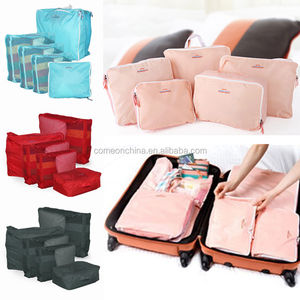 Travel Storage Luggage Suitcase Tidy Organizer Clothes Pouch Bag Case 5pcs/set