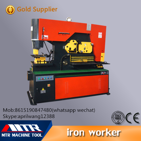 Q35Y series homemade hydraulic multi-function iron worker Machinery tool