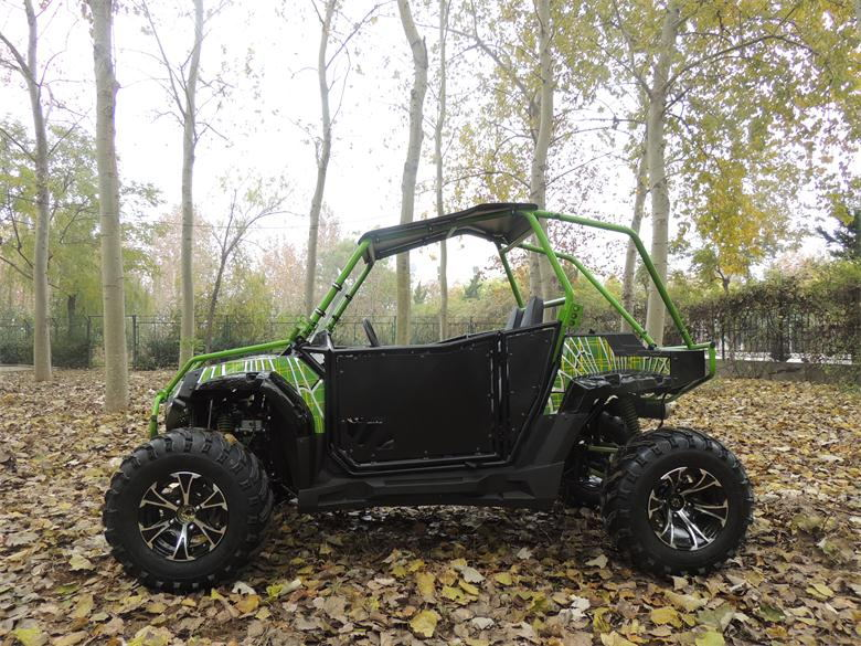 2 passengers 4 wheels bike eec 250cc utv