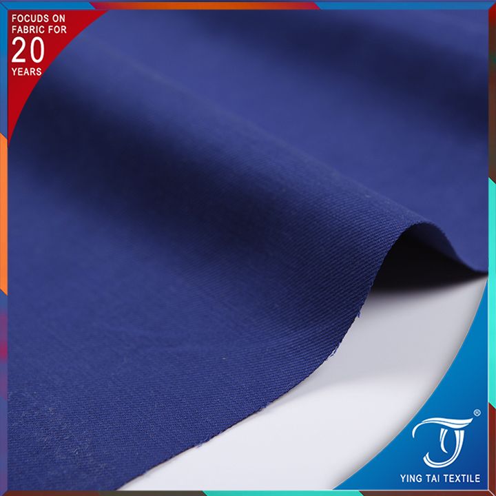 High quality brushed cotton twill fabric